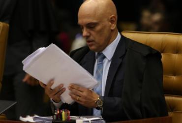 Alexandre de Moraes inclui Bolsonaro como investigado no inquérito das fake news   Foto: Fábio Rodrigues I STF