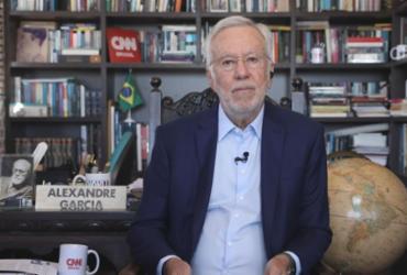Após ser demitido da CNN, Alexandre Garcia comemora marca no Youtube | Reprodução/ CNN Brasil
