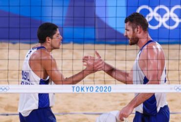 Alison e Álvaro buscam vaga nas semifinais do vôlei de praia em Tóquio | Gaspar Nóbrega | COB