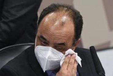 Reverendo chora em depoimento à CPI: 'Cometi um erro, peço perdão' | Ag. Senado