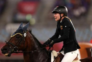 Treinadora alemã é expulsa dos Jogos por bater em cavalo | Dan Mullan | Getty Images