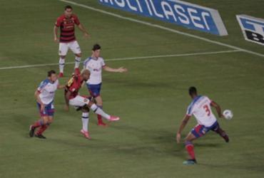 Bahia perde para o Sport e chega à quarta derrota seguida no Brasileirão | Adilton Venegeroles | Ag. A TARDE