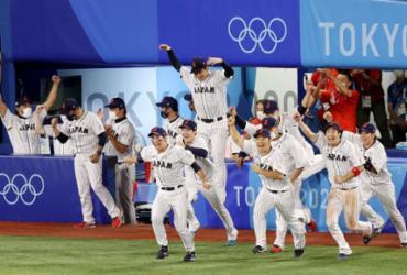 Beisebol: Japão vence EUA e conquista medalha de ouro | STR | JIJI PRESS | AFP