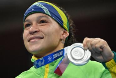 Baiana Beatriz Ferreira perde para irlandesa e é prata em Tóquio | Luis Robayo | AFP