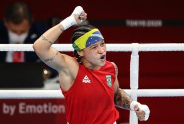 Boxe: Beatriz Ferreira passa à semifinal e garante medalha em Tóquio | Gaspar Nóbrega | COB