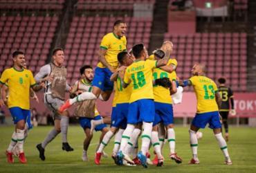 Nos pênaltis, Brasil vence México e vai à final do futebol nas Olimpíadas | Lucas Figueiredo | CBF
