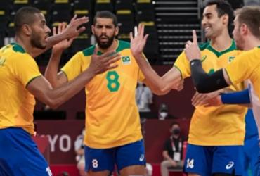 Brasil dá sorte em sorteio e enfrenta Japão nas quartas-de-final do vôlei masculino | Julio César Guimarães I COB