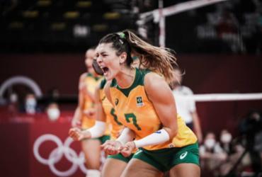 Vôlei: Brasil sofre susto, mas vira contra Comitê Olímpico Russo e avança à semifinal | Divulgação | Volleyball World