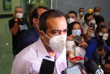 Bruno Reis anuncia série de medidas para avançar imunização em Salvador   Alex Torres   Ag. A TARDE