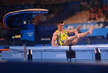 Caio Souza termina em oitavo no salto; sul-coreano leva o ouro | Loic Venance | AFP