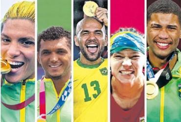 AL-BA criará Comenda do Mérito Esportivo e homenageará medalhistas baianos em Tóquio | Montagem | A TARDE