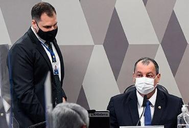 CPI pede afastamento de Mayra Pinheiro e quebra sigilos de Ricardo Barros | Marcos Oliveira | Agência Senado
