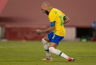 Daniel Alves exalta momento na carreira e analisa final contra Espanha   Lucas Figueiredo   CBF