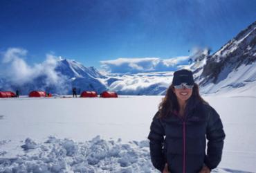 Força de vontade inspira a alpinista e escritora Fernanda Degow | Arquivo pessoal