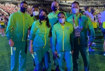 Baiano Hebert Conceição compõe delegação brasileira em cerimônia de encerramento | Divulgação | Time Brasil