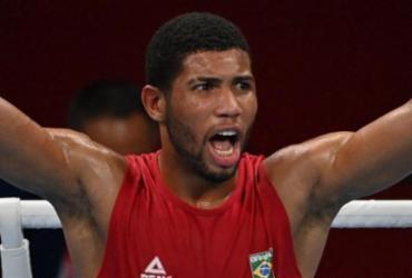 Boxe: Hebert Conceição vence cazaque e garante medalha | Luis Robayo | AFP