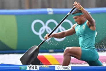 É ouro! Baiano Isaquias Queiroz vence C1 1.000m da canoagem velocidade | Luis Acosta | AFP