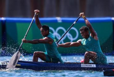 Isaquias e Godman terminam em 4º na canoagem C2 1.000m | Wander Roberto | COB