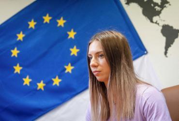 Atleta bielorrussa espera que seus compatriotas possam deixar 'de ter medo' |