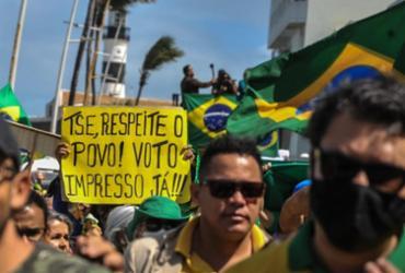 Plataforma identifica contas falsas tuitando a favor do voto impresso | Felipe Iruatã | Ag. A Tarde