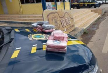 Mulher é presa com cerca de 15 Kg de cloridrato de cocaína em Seabra