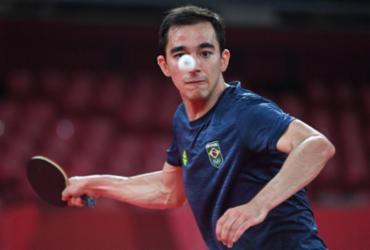 Tênis de mesa: Brasil vence Sérvia e vai às quartas do masculino por equipes | Adek Berry | AFP