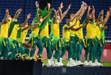 Mais um ouro! Brasil bate Espanha e é bicampeão olímpico no futebol masculino | Loic Venance | AFP