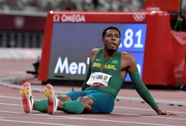 Paulo André Camilo termina em oitavo e fica fora da final dos 100m | Javier Soriano | AFP