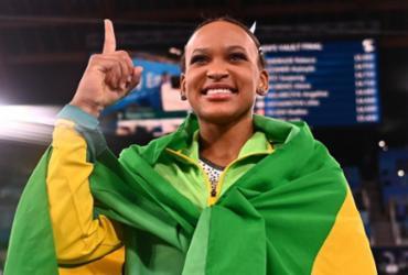 Rebeca Andrade será porta-bandeira do Brasil no encerramento dos Jogos | Loic Venance | AFP
