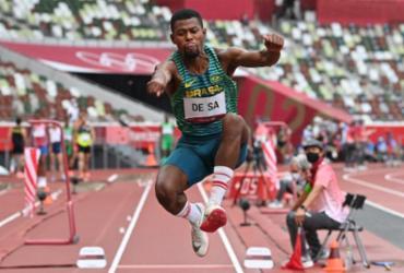 Atletismo: brasileiros não se classificam no salto triplo | Andrej Isakovic | AFP