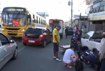 Homem fica gravemente ferido após ser atropelado em Pirajá | Reprodução | TV Bahia