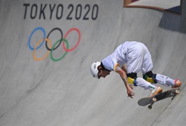 Brasil classifica os três atletas para a decisão do skate park | Lionel Bonaventure | AFP