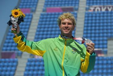Pedro Barros garante prata para o Brasil no park | Lionel Bonaventure | AFP