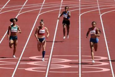 Atletismo: Tiffani Marinho não consegue avançar nos 400m rasos | Giuseppe Cacace | AFP