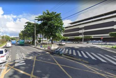 Trecho da Av. ACM é novamente interditado neste fim de semana | Reprodução | Google Maps