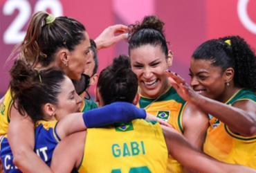 Vôlei: Brasil vence Quênia e pega o Comitê Russo nas quartas em Tóquio | Wander Roberto | COB