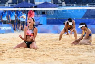 Vôlei de praia: Ágatha e Duda perdem para dupla alemã nas oitavas e são eliminadas | Daniel Leal-Olivas | AFP