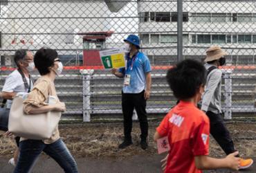 Voluntários aposentados desafiam o medo da Covid-19 nos Jogos de Tóquio |