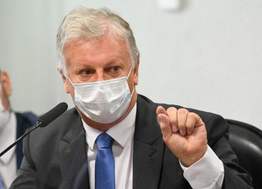 Ex-assessor de Pazuello é ouvido pela CPI da Pandemia e critica demora na aquisição de vacinas | Jeferson Rudy / Agência Senado