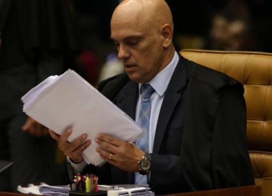 Alexandre de Moraes inclui Bolsonaro como investigado no inquérito das fake news | Foto: Fábio Rodrigues I STF