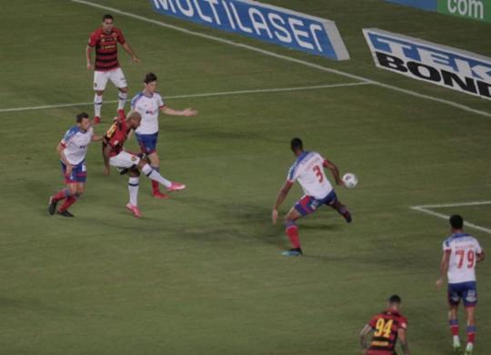 Bahia perde para o Sport e chega à quarta derrota seguida | Adilton Venegeroles | Ag. A TARDE