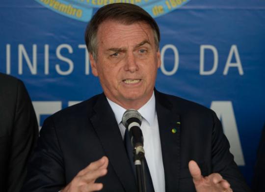 Bolsonaro diz que não aceita intimidações e ataca Barroso: 'desserviço à nação' | Tomas Silva i Agência Brasil