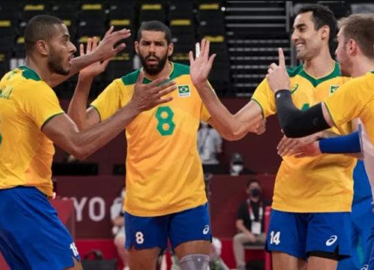 Brasil dá sorte em sorteio e enfrenta Japão nas quartas-de-final em Tóquio | Julio César Guimarães I COB