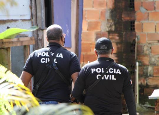 Idoso é preso por estuprar quatro netas de ex-companheira no interior da Bahia   Ilustrativa Ascom-PC   Haeckel Dias