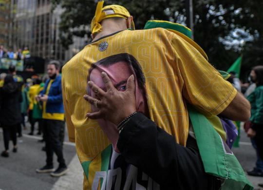 Se sem voto impresso não tem eleição, será como Bolsonaro quer? | Nelson Almeida | AFP