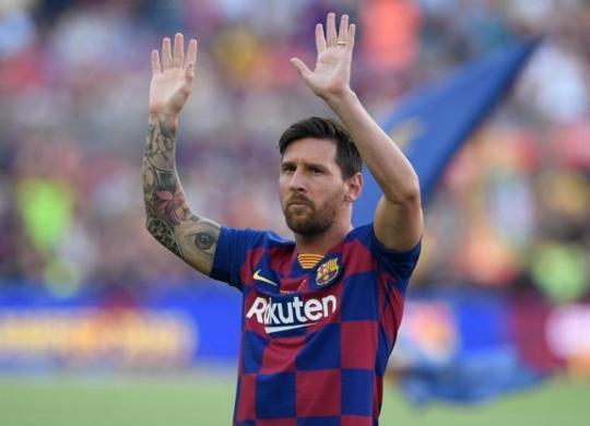 Barcelona anuncia saída de Messi depois de 17 temporadas | Josep Lago | AFP