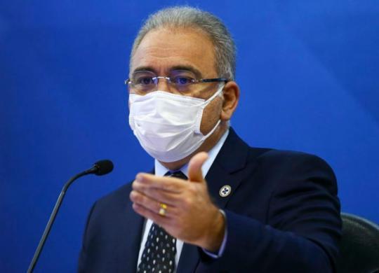 Queiroga nega que Bolsonaro tenha mandado suspender vacinação de adolescentes | Marcelo Camargo | Agência Brasil