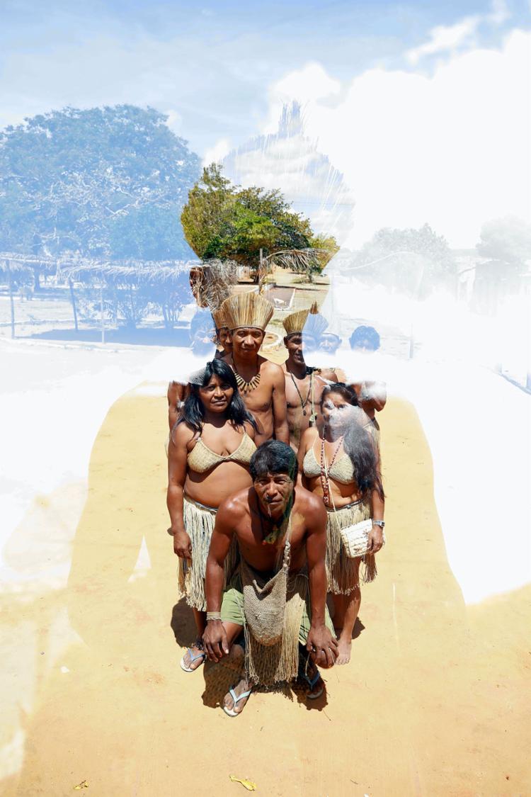 Indígenas Kiriri de Mirandela, na cidade de Banzaê, sob o olhar de Adilton Venegeroles