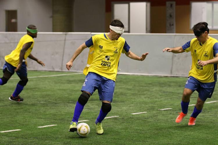 Cassio Reis, 31, de Ituberá Paratleta disputa o futebol de 5 e é bicampeão