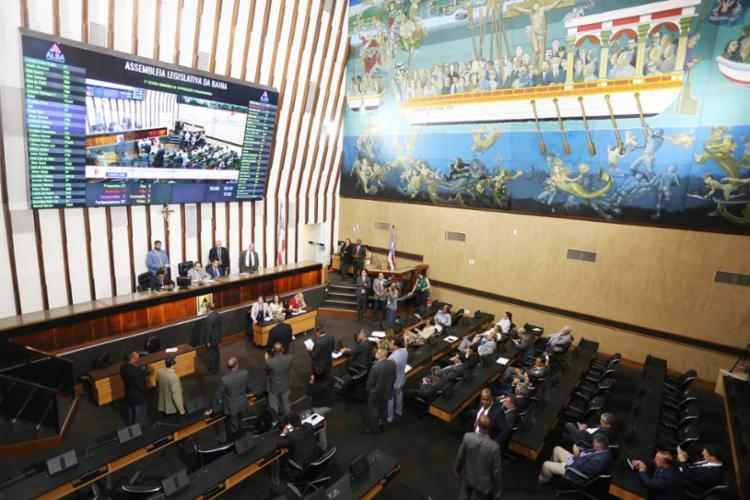 A retomada do trabalho presencial está restrita apenas aos parlamentares | Foto: Sandra Travassos/ALBA - Foto: Sandra Travassos/ALBA